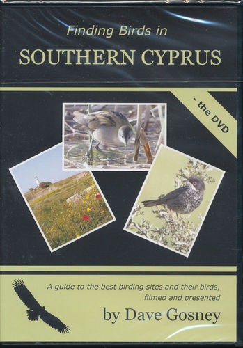 Gosney: Finding Birds in Southern Cyprus - book + DVD