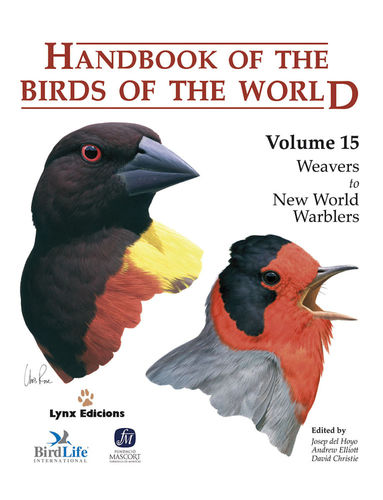 Hoyo, del; Elliott, Christie (Hrsg.): Handbook of the Birds of the World,  Volume 15