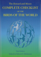 Dickinson : The 'Howard & Moore' Complete Checklist of the Birds of The World