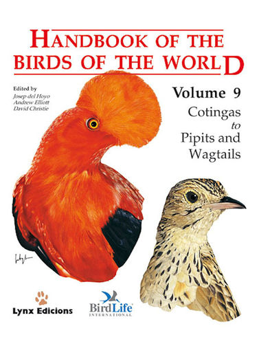 Hoyo, del, Elliott, Christie (Hrsg.): Handbook of the Birds of the World, Volume  9