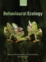 Danchin, Giraldeau, Cézilly : Behavioural Ecology : An Evolutionary Perspective on Behaviour