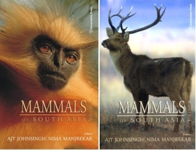 Johnsingh, Manjrekar (Hrsg.): Mammals of South Asia - Set