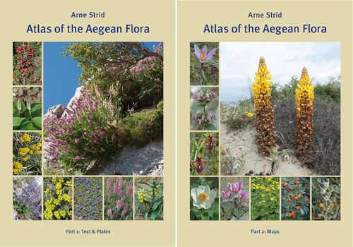 Strid:  Atlas of the Aegean Flora - Part 1: Text & Plates, Part 2: Maps