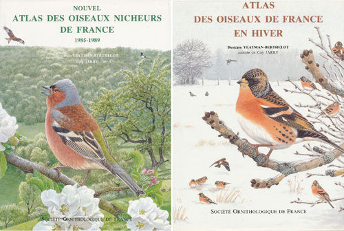 Yeatman-Berthelot, Jarry : Atlas des Oiseaux de France