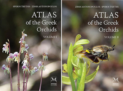 Antonopoulos, Tsiftsis: Atlas of the Greek Orchids, 2 Vol.