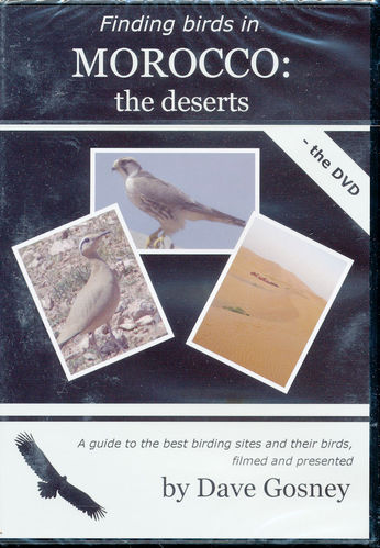 Gosney: Finding Birds in Morocco - the deserts - the DVD