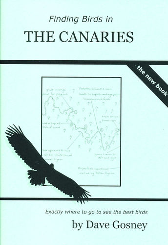 Gosney: Finding Birds in Canary Islands - the book