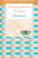 Hanski : Metapopulation Ecology :