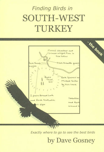 Gosney: Finding Birds in South-West Turkey - the book
