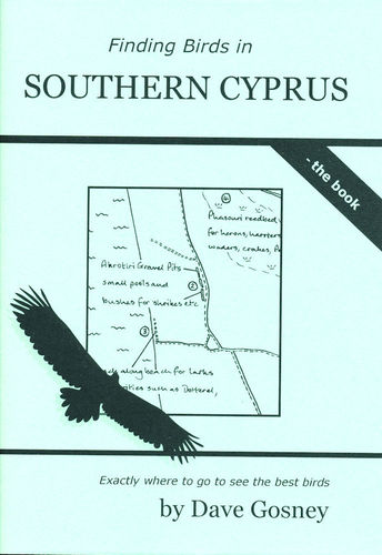 Gosney: Finding Birds in Southern Cyprus-  the book