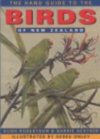 Robertson, Heather: The Hand Guide to the Birds of New Zealand