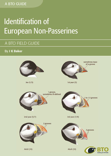 Baker: Identification Guide to European Non-Passerines - Edition 2 - BTO-Field-Guide