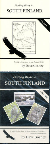Gosney: Finding Birds in South Finland - Set book + DVD