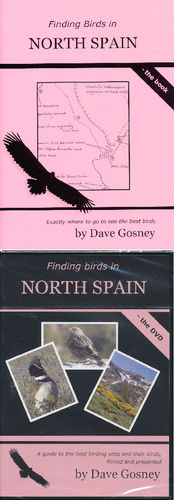 Gosney: Finding Birds in North Spain  Set  book + DVD