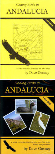 Gosney: Finding Birds in Andalucia - book + DVD