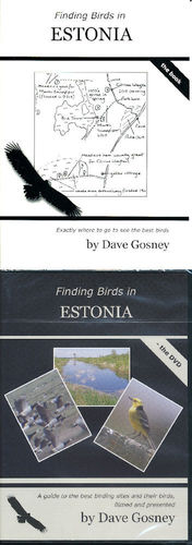 Gosney: Finding Birds in Estonia - book + DVD