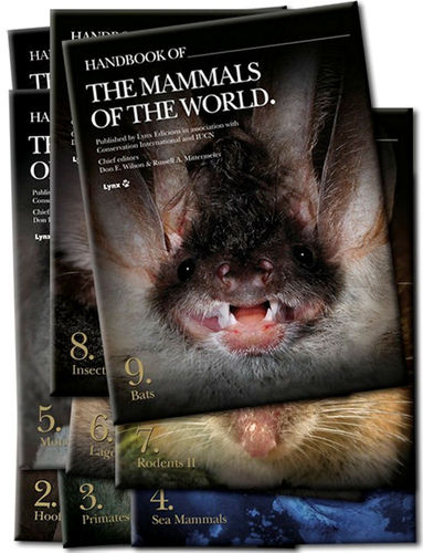 Wilson, Mittermeier (Hrsg.): Handbook of the Mammals of the World - Set Vol. 1 bis 9
