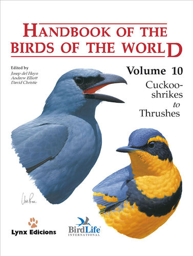 Hoyo, del (Hrsg.): Handbook of the Birds of the World, Volume 10