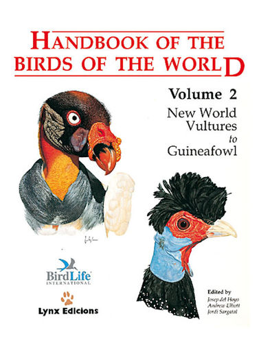 Hoyo, del; Elliott, Sargatal (Hrsg.): Handbook of the Birds of the World, Volume  2