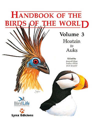 Hoyo, del; Elliott; Sargatal (Hrsg.): Handbook of the Birds of the World, Volume  3