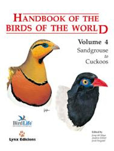 Hoyo, del; Elliott; Sargatal (Hrsg.): Handbook of the Birds of the World, Volume  4