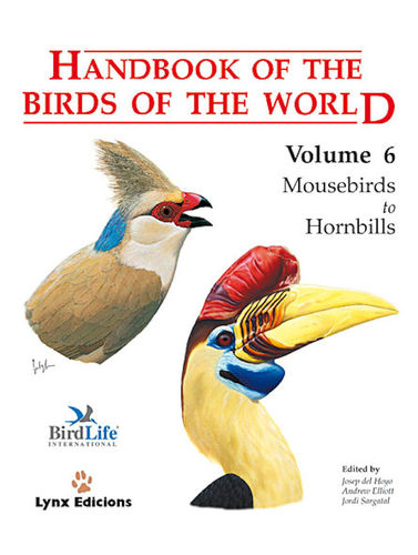 Hoyo, del (Hrsg.): Handbook of the Birds of the World, Volume  6