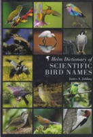 Jobling: Helm Dictionary of Scientific Bird Names