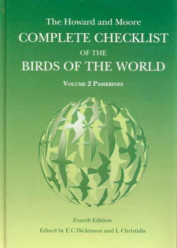 Dickinson (Hrsg.): Howard and Moore Complete Checklist of the Birds of the World, Vol. 2: Passerines