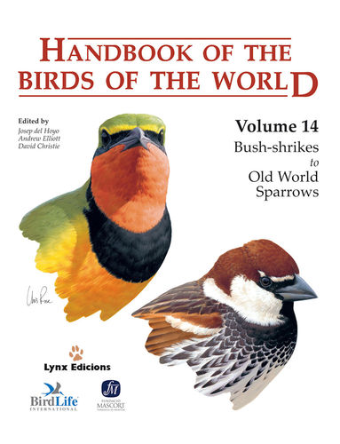 Hoyo, del; Elliott, Christie (Hrsg.): Handbook of the Birds of the World, Volume 14