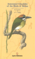 Jones, Vallely : Annotated Checklist of the Birds of Belize :
