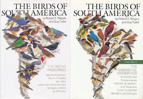 Ridgely, Tudor: The Birds of South America, Set Volume I + II Passerines