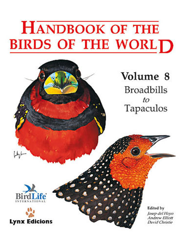 Hoyo, del (Hrsg.): Handbook of the Birds of the World, Volume 8