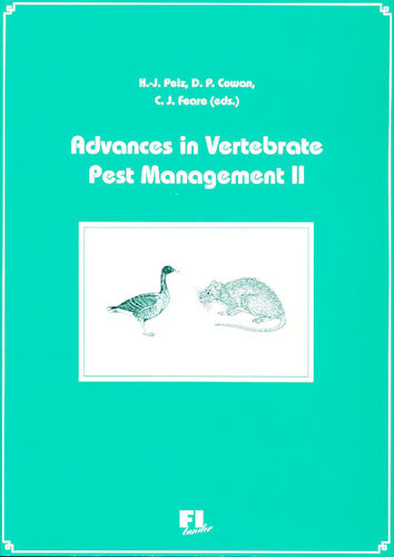 Pelz, Cowan, Feare: Advances in Vertebrate Pest Management 1999 Volume II