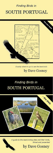 Gosney: Finding Birds in Southern Portugal - book + DVD