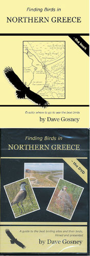 Gosney: Finding Birds in Northern Greece - book + dvd