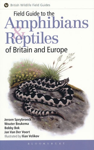 Speybroeck: Field Guide to the Amphibians and Reptiles of Britain and Europe