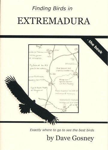 Gosney: Finding Birds in Extremadura - the book