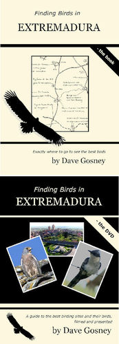 Gosney: Finding Birds in Extremadura - Set book and dvd