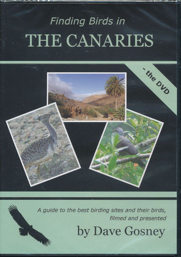 Gosney: Finding Birds in Canary Islands - Set book and the dvd