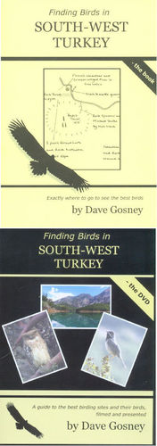 Gosney: Finding Birds in South-West Turkey - Set book + dvd