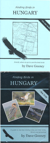 Gosney: Finding Birds in Hungary - Set book and dvd