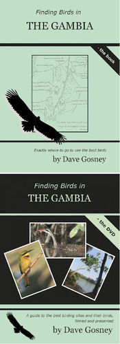 Gosney: Finding Birds in The Gambia - Set book + DVD