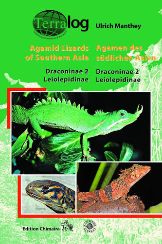 Manthey: Agamen des südlichen Asien - Agamid Lizards of Southern Asia Dracominae 2 Leiolepidinae